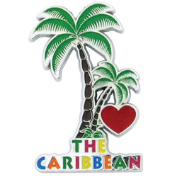 CARIBBEAN PALM TREE MAGNET
