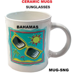 Sunglasses Ceramic Mug