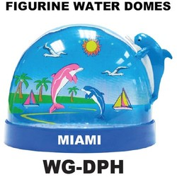 Dolphin Figurine Water Dome