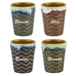 Glazed Ceramic Shot Glass