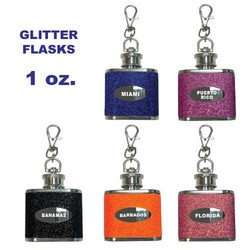 KY CHAIN FLASKS GLITTER
