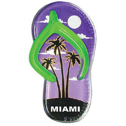 PALM TREE SANDAL MAGNET