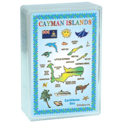 Cayman Islands Map Playing Cards