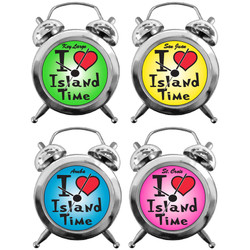 ALARM CLOCK I LOVE ISLAND TIME