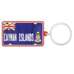 CAYMAN ISLANDS FLAG KEYCHAIN