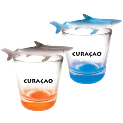 SHARK TOPPER SHOT GLASS