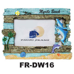 Dolphins Driftwood Frame