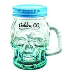 Skull Mason Jar Shot Glasses