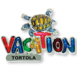 TURTLE VACATION MAGNET