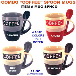 Combo Coffee Spoon Mugs