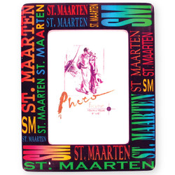 St. Maarten Signature Series 4 x 6 Photo Frame