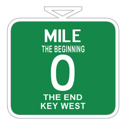 KEY WEST MILE 0, POT HOLDER