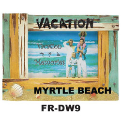 Vacation Driftwood Frame