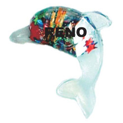 DOLPHIN, FLOATING CASINO MAGNET