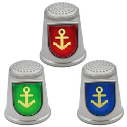 STAINLESS STEEL THIMBLES. ANCHOR