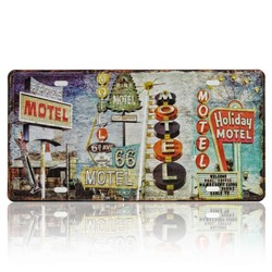 Holiday Motel, Souvenir License Plate