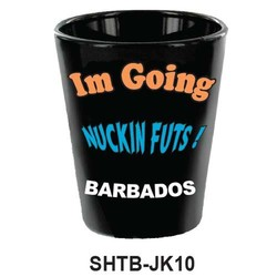 I AM GOING NUCKINFUT SHOT GLASS