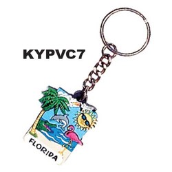 BEACH WATER KEYCHAINS