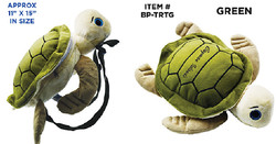 Plush Turtle Back Pack