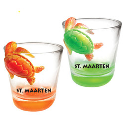 TURTLE TOPPER SHOT GLASS
