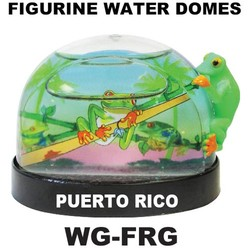 Frog Figurine Water Dome