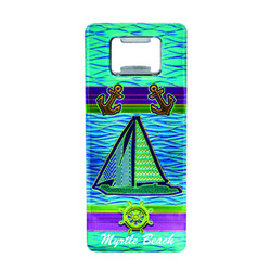 Metallic Bottle Opener Sailboat