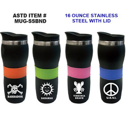 Stainless Steel Bands Mugs