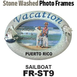 Stone Washed Photo Frames