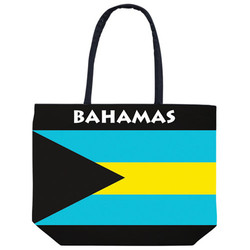 BAHAMAS FLAG BEACH BAG