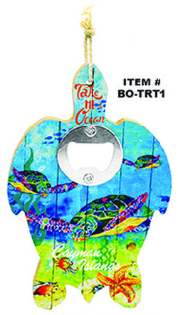 Turtle Bottle Opener Cayman Islands