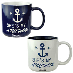 She Is My Anchor Mug