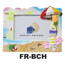 Beach Umbrella& Chair Beach Photo Frames