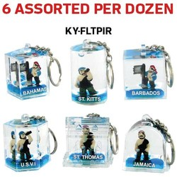 FLOATING KEY CHAIN PIRATE