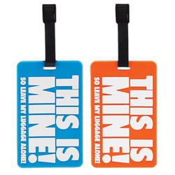 This Is Mine! Bag Tag