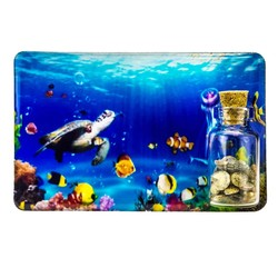 Turtles Sand and Shell Bottle Magnet