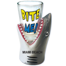 BITE ME. Shark Shot Glass