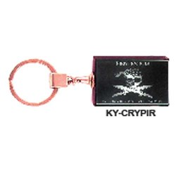CRYSTAL PIRATE KEY CHAIN