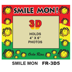 Smile Mon! 3D PHOTO FRAME