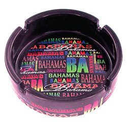 Bahamas Neon Signature Collection Ceramic Ashtray