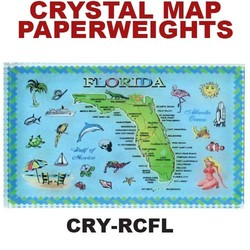 Florida Map Paperweight