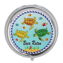 Turtles Foil Pill Box