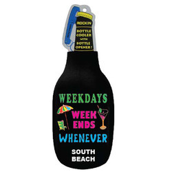 WEEKDAYS, WEEKEND BLACK BOTTLE COOLER
