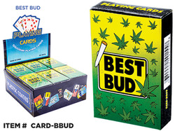 Souvenir Playing Cards Best Bud