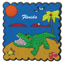 ALLIGATOR STAMP MAGNETS