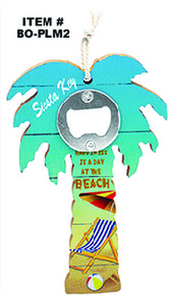 Palm Tree Bottle Opener Siesta Key
