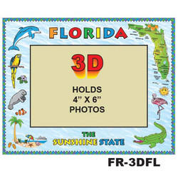 Florida 3D PHOTO FRAME