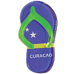 CURACAO FLAG SANDAL MAGNETS