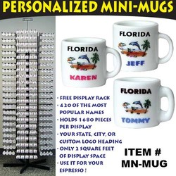 Personalized Mini-Mugs