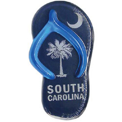 SOUTH CAROLINA SANDAL MAGNETS