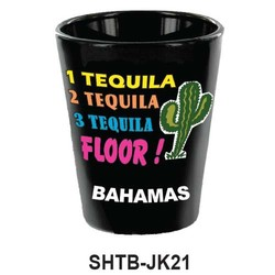 1 TEQUILA 2 TEQUILAS SHOT GLASS